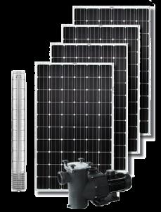 kit pompaggio a energia solare