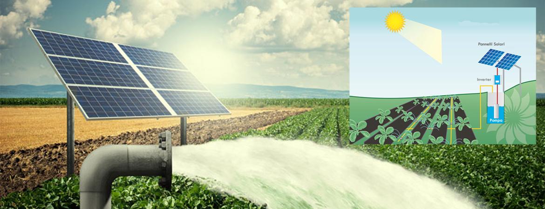 pompa fotovoltaica per pozzo