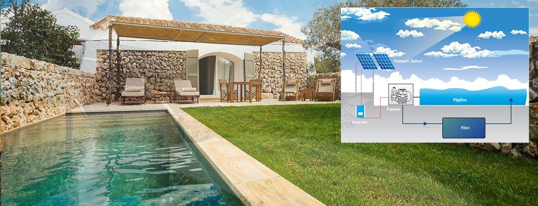 pompa fotovoltaica per piscina